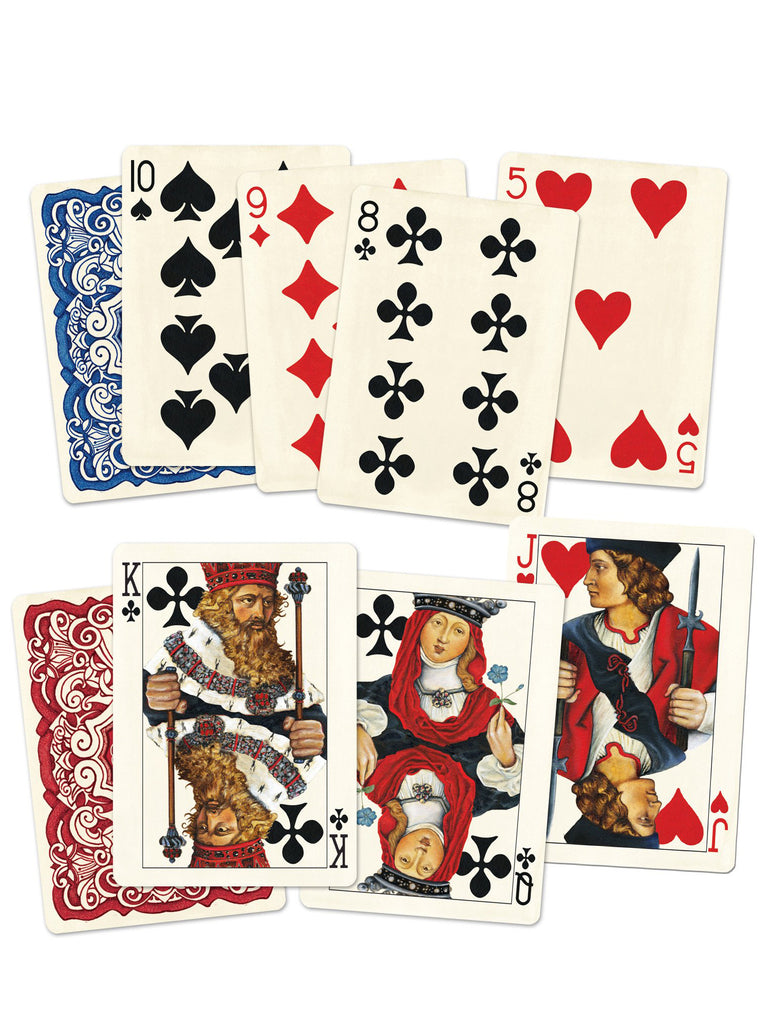 Classic Red Playing Cards