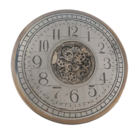 80 Cm Mirror Moving Gear Wall clock