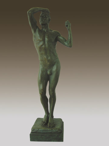 Bronze Sculpture Statue Tall Nude Male