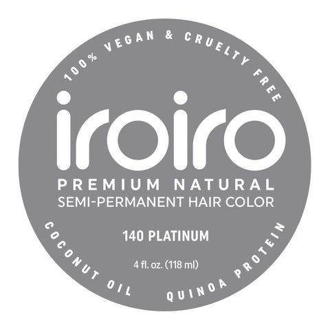 Hair Color - Iroiro 140 Premium Vegan Cruelty-Free Natural Semi-Permanent Hair Color