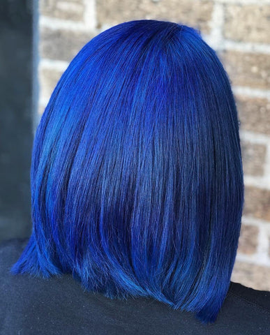 Hair Color - Iroiro 45 Deep Blue Natural Vegan Cruelty-Free Semi-Permanent Hair Color