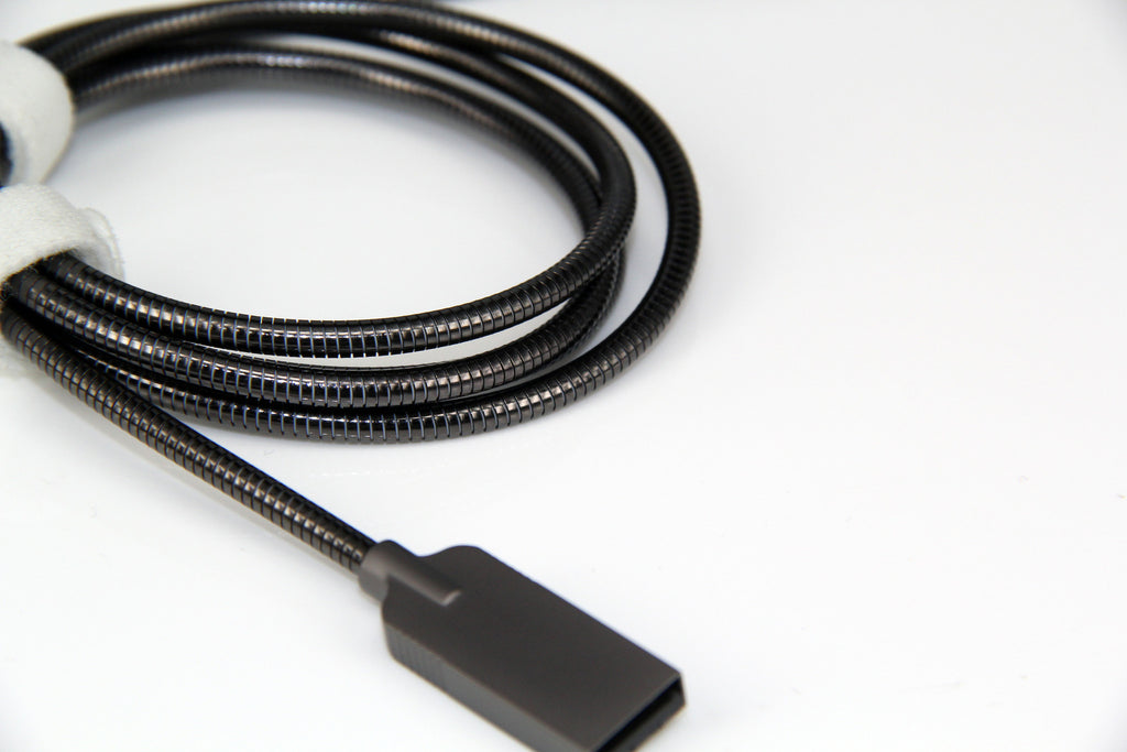 PLUGiES CURVES - Stainless Steel Zinc Alloy Cables