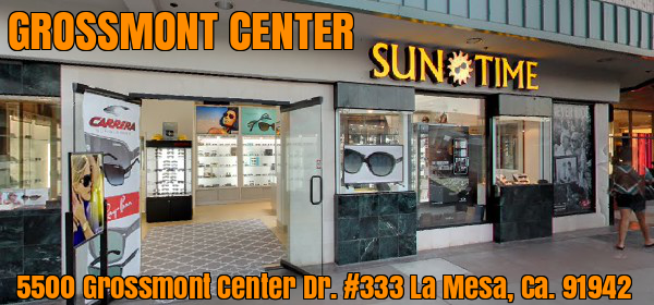 Grossmont Center Sunglasses And Watches La Mesa Sun Time