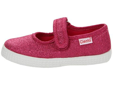 Cienta 56013 Fuchsia Sparkle Mary Jane