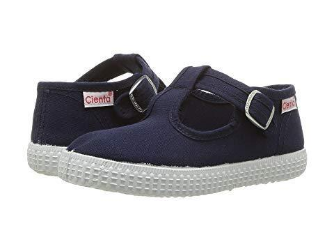 Cienta Girl's and Boy's 51000 Navy T- Strap