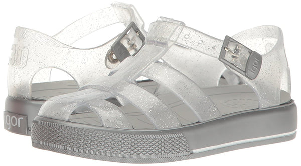 Igor S10105.135 Silver Glitter Girls Jelly