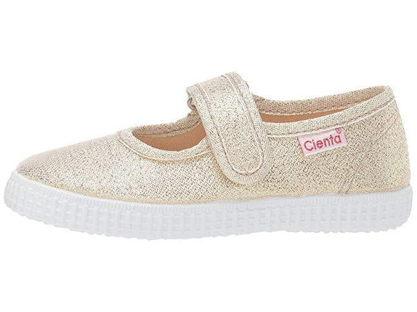 Cienta Girl's 56083 Limited Edition Gold Sparkle Mary Jane
