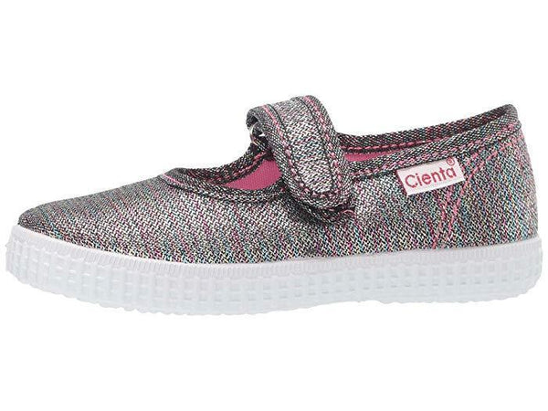 Cienta Girl's 56083 Limited Edition Rainbow Sparkle Mary Jane