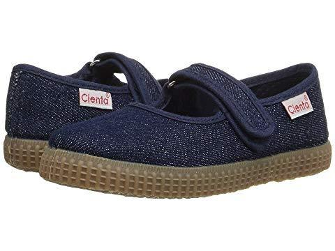 Cienta Girl's 56079 Denim Mary Jane