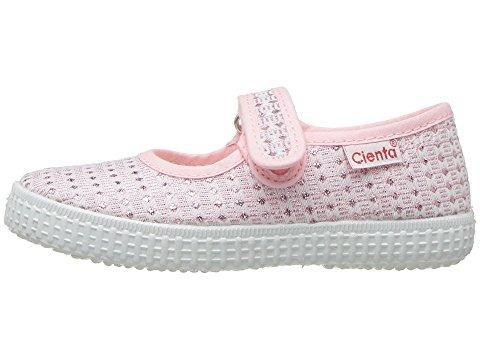 Cienta Girl's 56022 Pink Sparkle Print Mary Jane
