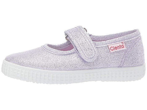 Cienta Girl's 56083 Limited Edition Lilac Sparkle Mary Jane
