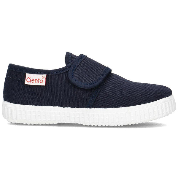 Cienta Boy's and Girl's 58000 Navy Canvas Sneaker