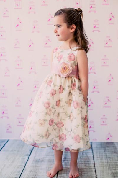 organza flawer girl dress