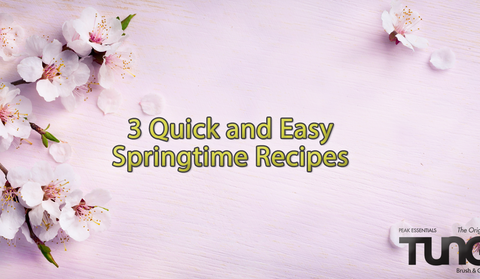 3 Quick and Easy Springtime Dinners