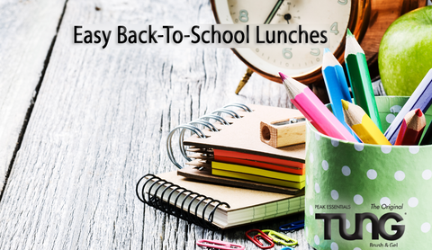Quick and Easy Back-to-School Lunch Ideas