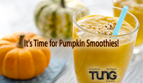 Easy and Healthy Pumpkin Spice Smoothie