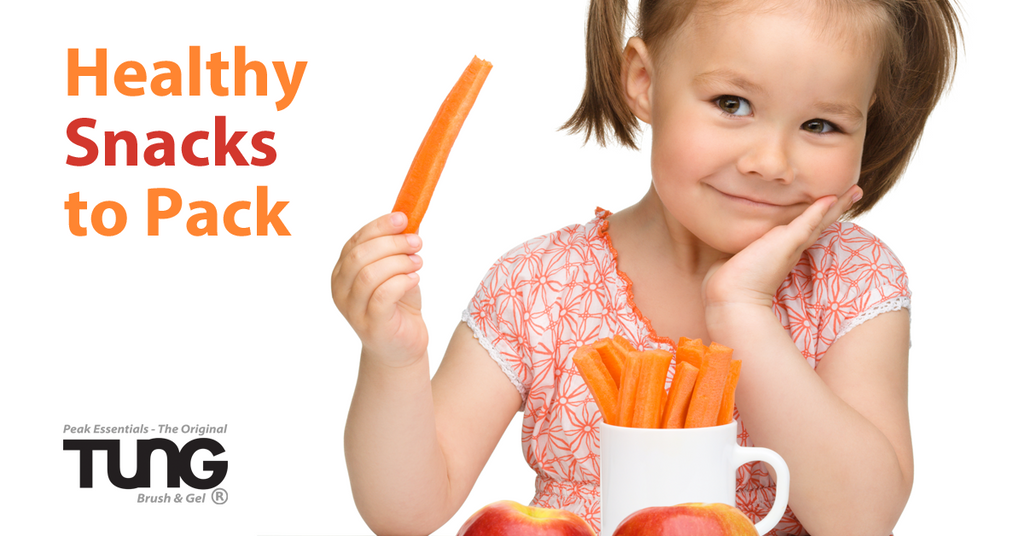 Back to School: Healthy Snacks to Pack for your Kids