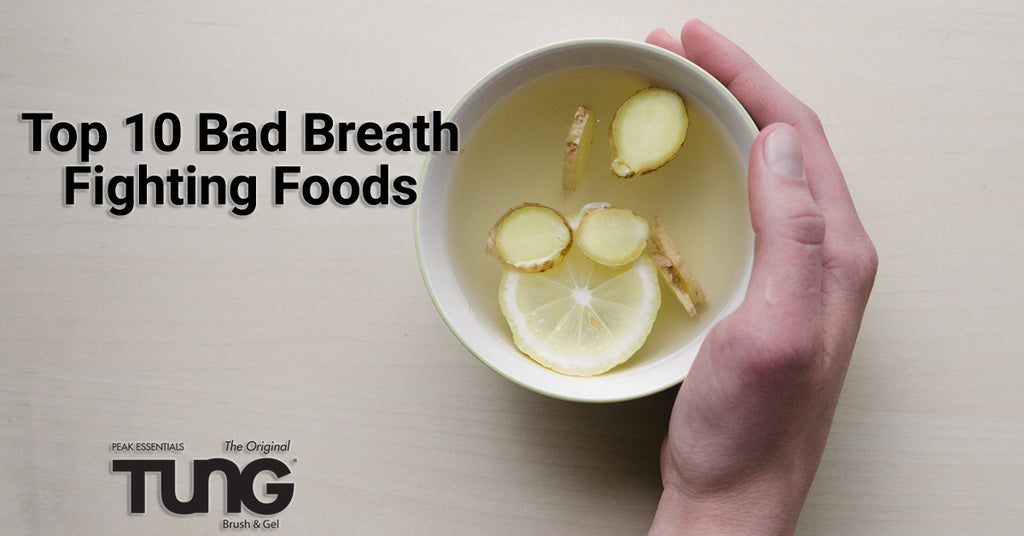 Foods that Fight Bad Breath!