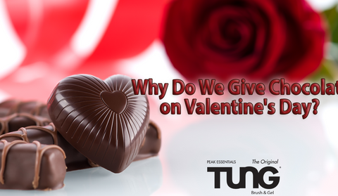Why We Give Chocolate on Valentine's Day?