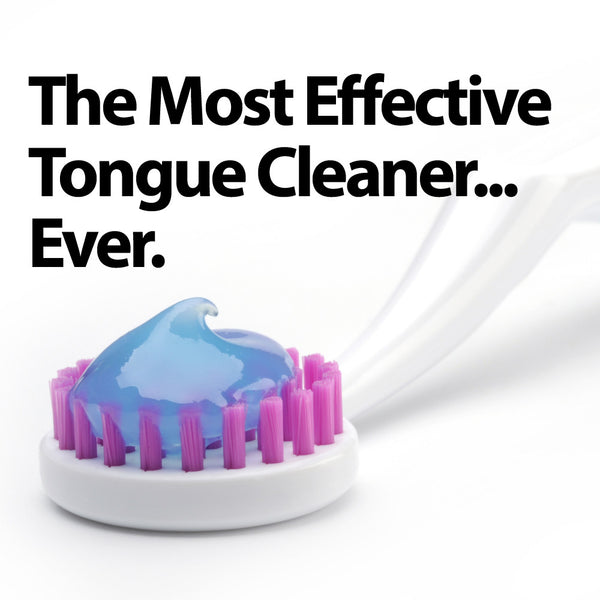 The Original TUNG Brush – Tongue Cleaner with TUNG Gel Sample