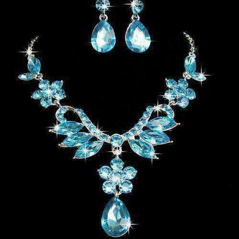 Sparkling Crystal Jewelry Set