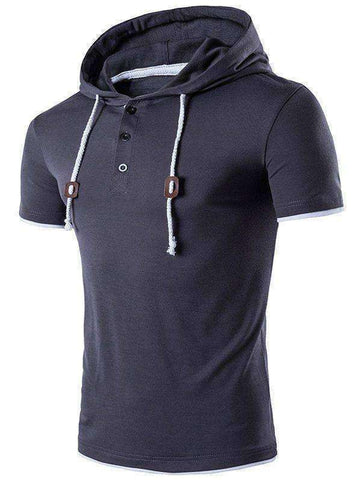 Men's Short Sleeve Hoodie - The Timeless Store