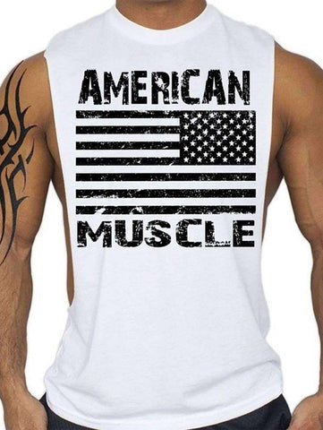 Men's American Muscle Tank Top - The Timeless Store