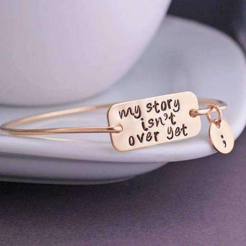 My Story Isn't Over Yet Bracelet - The Timeless Store