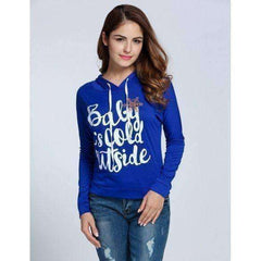 Women's Baby It's Cold Outside Sweatshirt - The Timeless Store