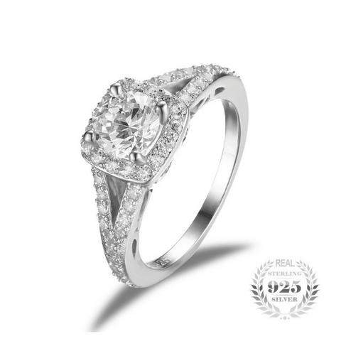 2.2ct Diamond Ring Genuine 925 Sterling Silver