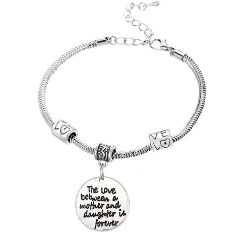 Family Is Forever Relationship Connection Bracelet