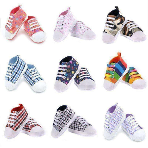First Walker Newborn Baby Toddler Shoes - The Timeless Store