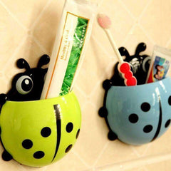 Ladybug Toothbrush Wall Suction