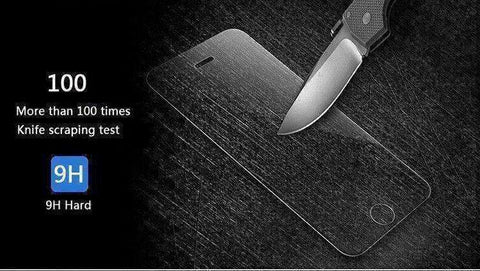 iPhone Ultra Thin Tempered Glass Screen Protector - The Timeless Store