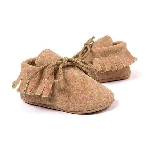 First Walkers Baby Moccasin Shoes - The Timeless Store