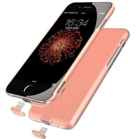 iPhone Ultra Slim External Battery Power Case - The Timeless Store