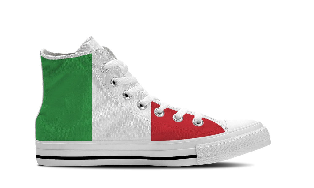 MEN'S ITALY HIGH-TOP SHOES (WHITE) - FREE SHIPPING WORLDWIDE