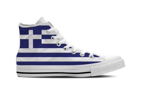 MEN'S GREECE HIGH-TOP SHOES (WHITE) - FREE SHIPPING WORLDWIDE