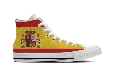 MEN'S SPAIN HIGH-TOP SHOES (WHITE) - FREE SHIPPING WORLDWIDE