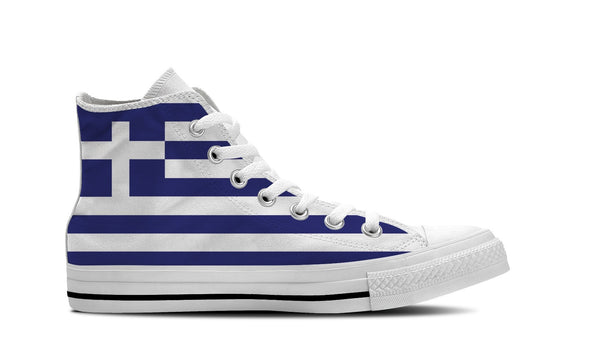 WOMEN'S GREECE HIGH-TOP SHOES (WHITE) - FREE SHIPPING WORLDWIDE