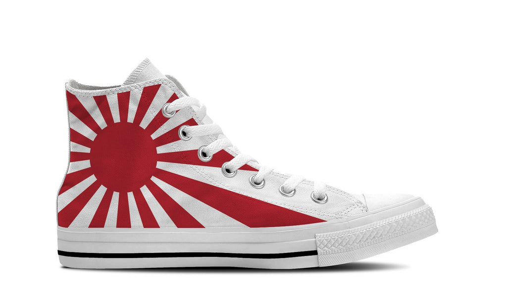 MEN'S JAPAN HIGH-TOP SHOES (WHITE) - FREE SHIPPING WORLDWIDE