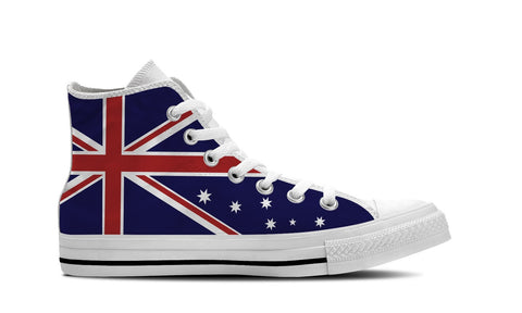 MEN'S AUSTRALIA HIGH-TOP SHOES (WHITE) - FREE SHIPPING WORLDWIDE
