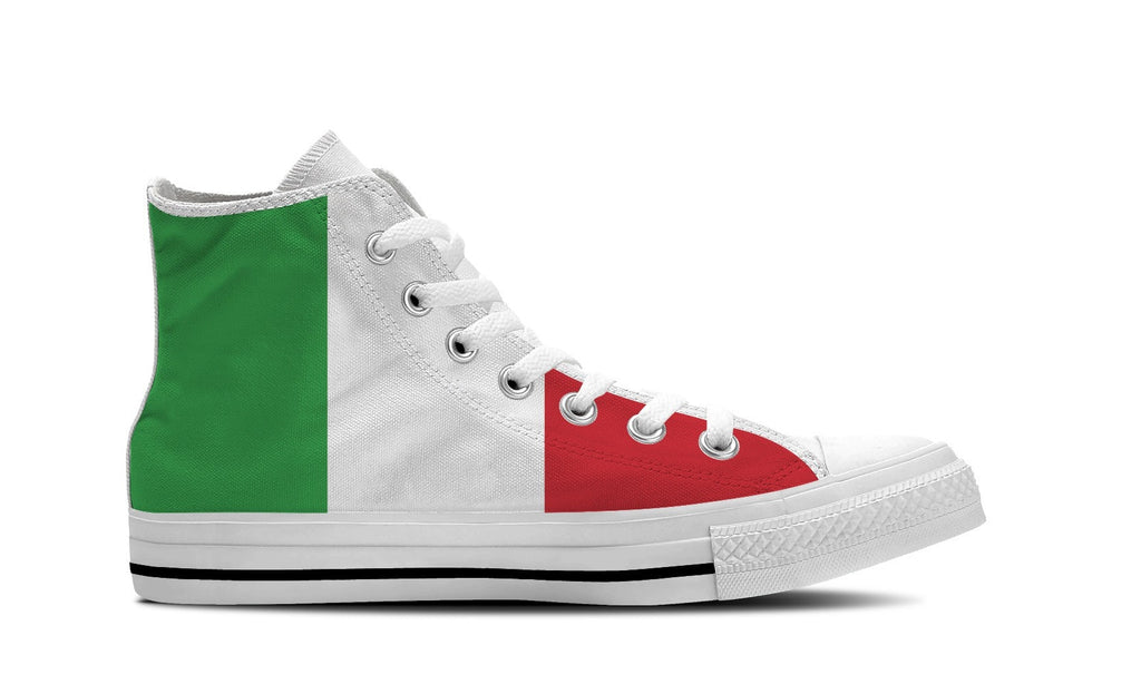 WOMEN'S ITALY HIGH-TOP SHOES (WHITE) - FREE SHIPPING WORLDWIDE