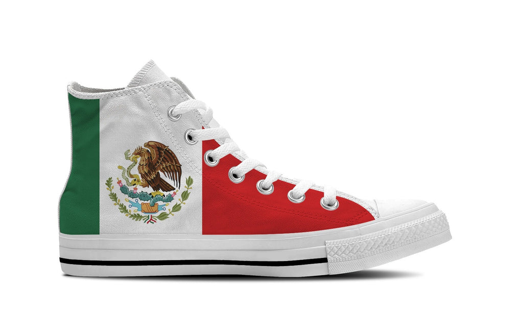 WOMEN'S MEXICO HIGH-TOP SHOES (WHITE) - FREE SHIPPING WORLDWIDE