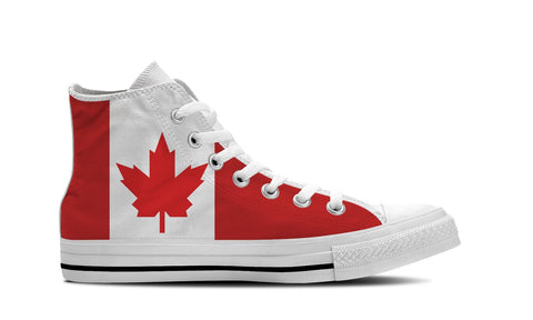 MEN'S CANADA HIGH-TOP SHOES (WHITE) - FREE SHIPPING WORLDWIDE