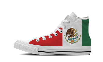 MEN'S MEXICO HIGH-TOP SHOES (WHITE) - FREE SHIPPING WORLDWIDE