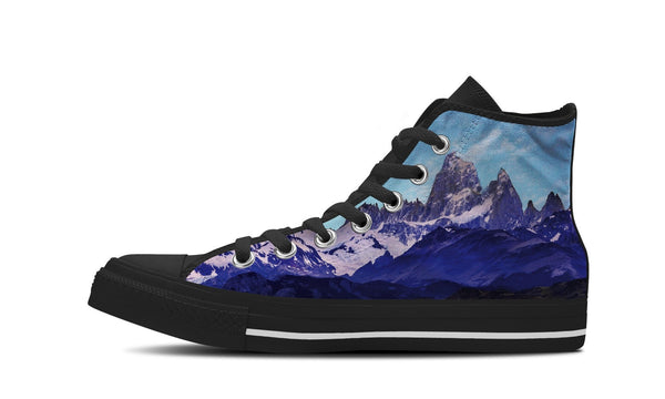 MEN'S MOUNTAIN HIGH-TOP SHOES (BLACK) - FREE SHIPPING WORLDWIDE