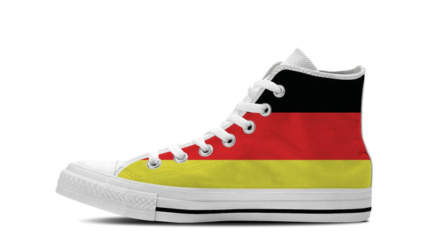 MEN'S GERMANY HIGH-TOP SHOES (WHITE) - FREE SHIPPING WORLDWIDE