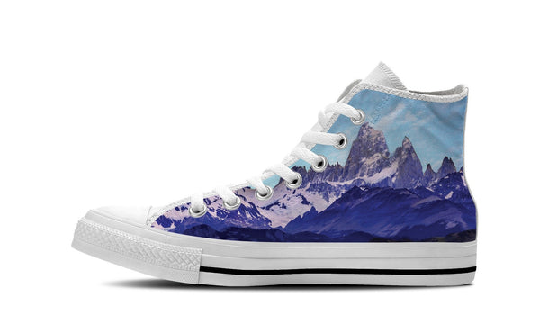 MEN'S MOUNTAIN HIGH-TOP SHOES (WHITE) - FREE SHIPPING WORLDWIDE