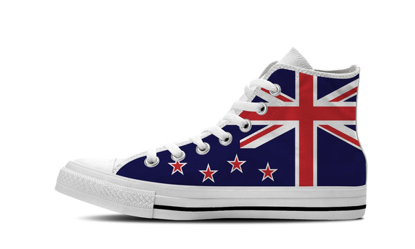 MEN'S NEW ZEALAND HIGH-TOP SHOES (WHITE) - FREE SHIPPING WORLDWIDE